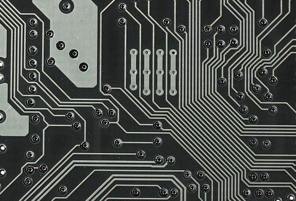 Board Panel Communication Processor Computer Chip