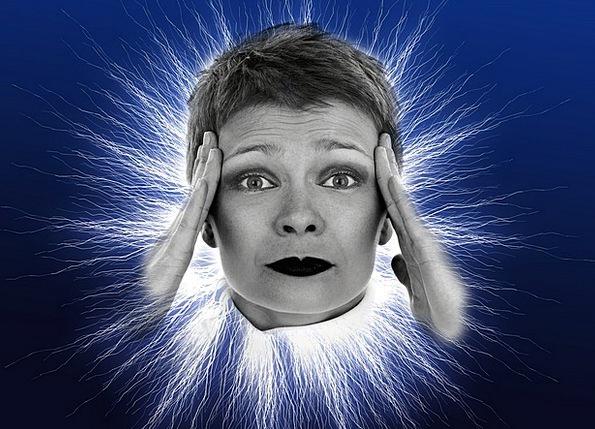 Headache Annoyance Fashion Lady Beauty Face Expres