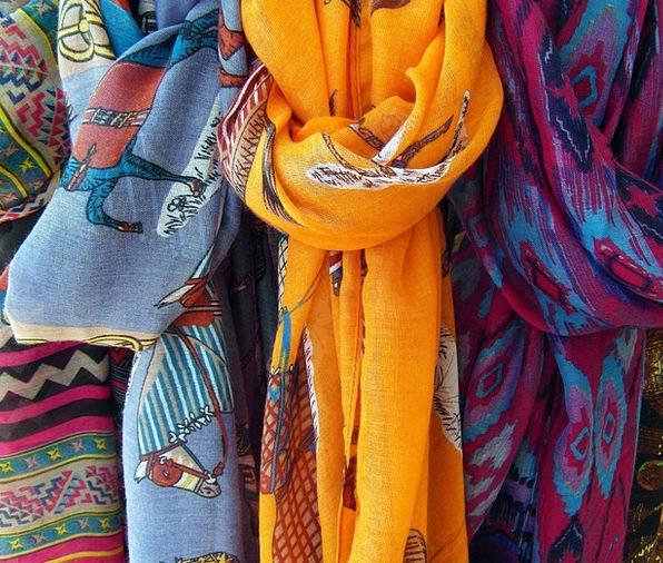 Towels Cloths Interesting Color Hue Colorful Knot