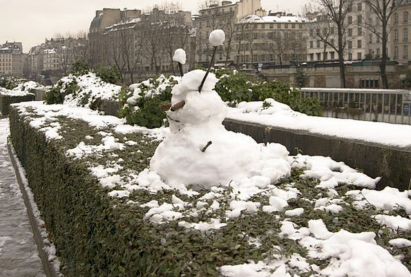 Snow Snowflake Buildings Statue Architecture Snow