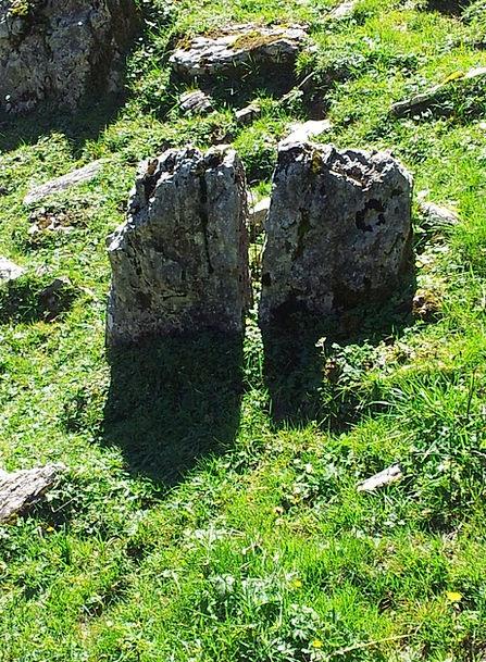 Boulders Rocks Landscapes Pillar Nature Twin Ident