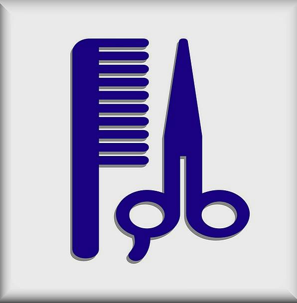 Hairdresser Coiffeur Cupboard Hair Mane Dresser Fa