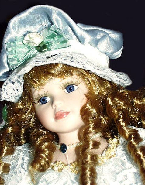 Porcelain China Toys Toy Doll Dolls Vintage Out-of