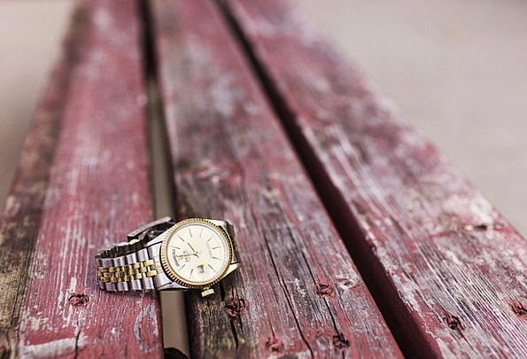 Watch Timepiece Textures Backgrounds Bench Seat Wr