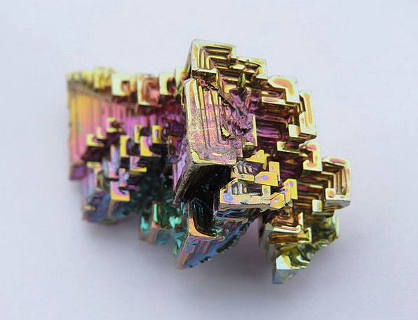 Crystal Inorganic Iridescent Shimmering Mineral Co