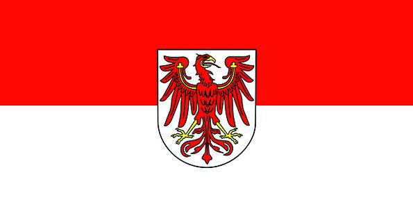 Brandenburg Standard State National Flag Germany G