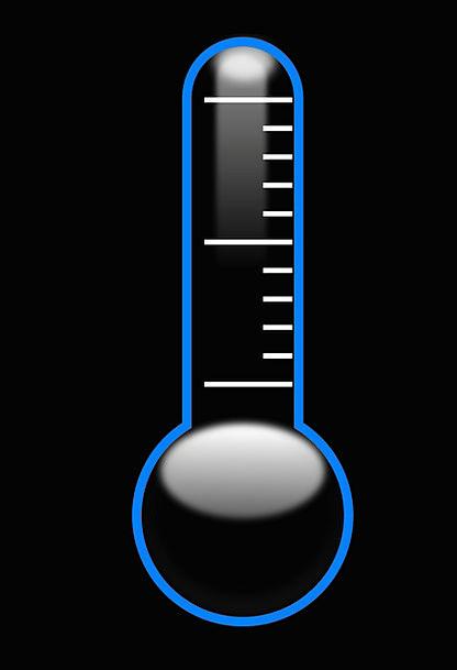 Thermometer Fever Celsius Temperature Vertical Per