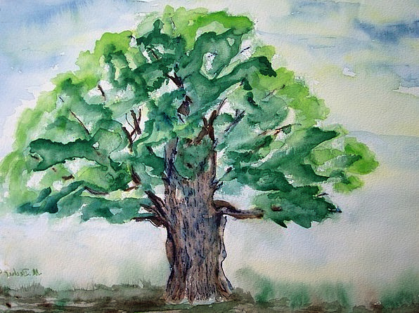 Tree Sapling Craft Industry Image Copy Painting Cr