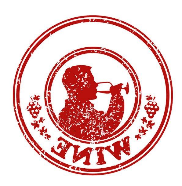 Wine Mauve Drink Brand Food Seal Closure Stamp Sky