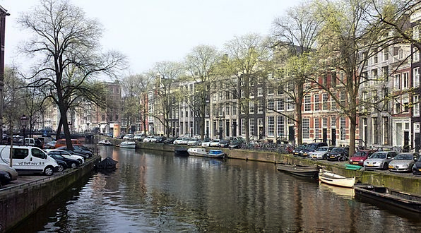 Amsterdam Waterway Netherlands Canal