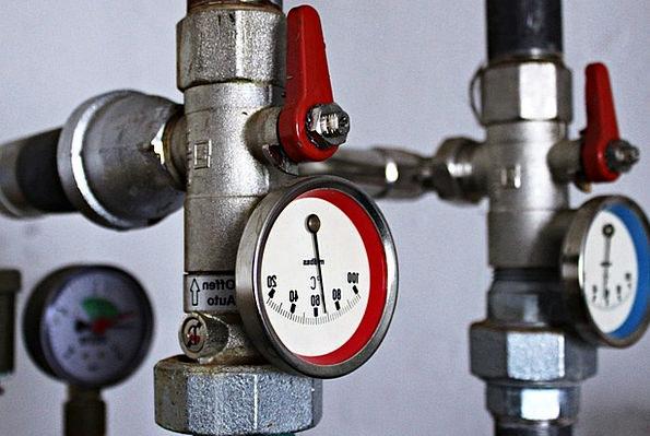 Heating Boiler Regulator Temparaturanzeige Thermos
