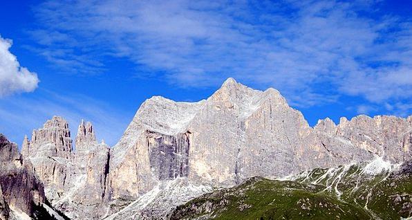 Dolomites Landscapes Crag Nature Top Highest Mount