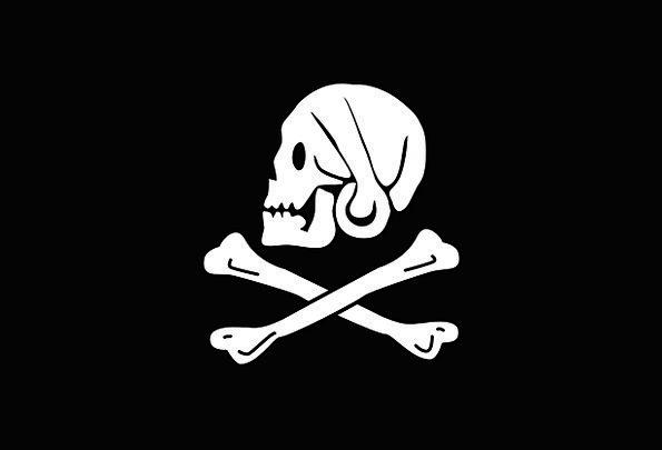 Flag Standard Buccaneer Symbols Ciphers Pirate Hen