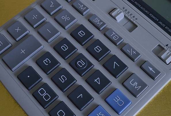 Calculator Adder Finance Control Business Keypad C
