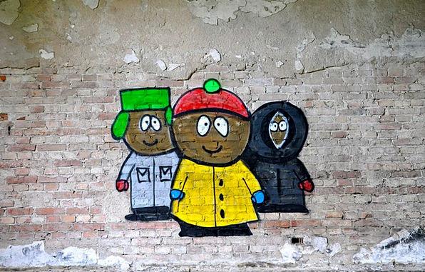 Graffiti Drawings Street Art South Park Painting I