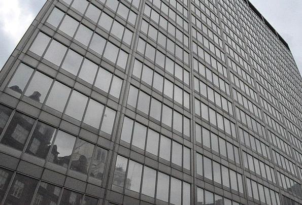 London Designer Glass Cut-glass Architect Reflecti