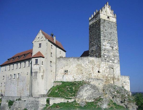 Castle Fortress Hohenstaufen Castle Katzenstein Hä