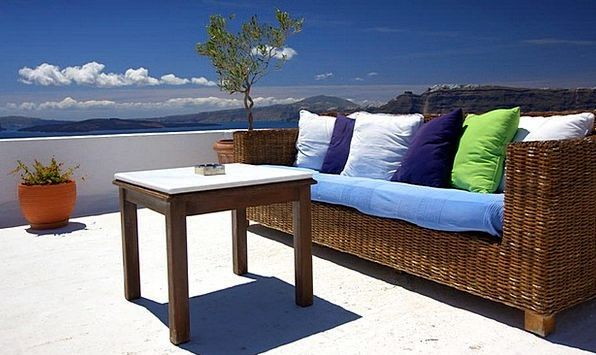 Patio Courtyard Equipment Couch Sofa Furniture Ter