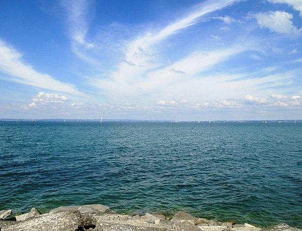 Mood Disposition Aquatic Romanshorn Water Sky Blue
