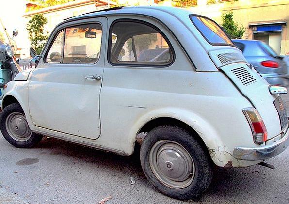 Fiat Sanction Rome Old Car Fiat 500