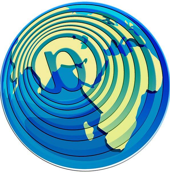 Globe Sphere Ball E Mail Electronics Earth Soil Ne