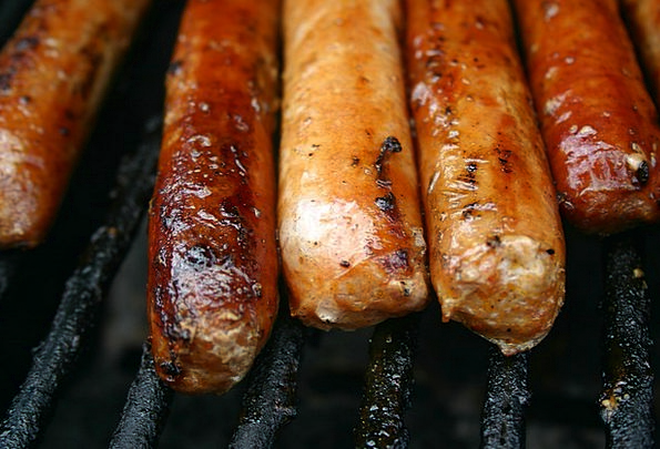 Sausages Drink Grill Food Food Nourishment Barbecu