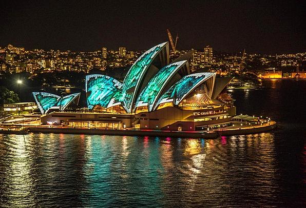 Sydney Opera House Australia Sydney Vivid Lightsho