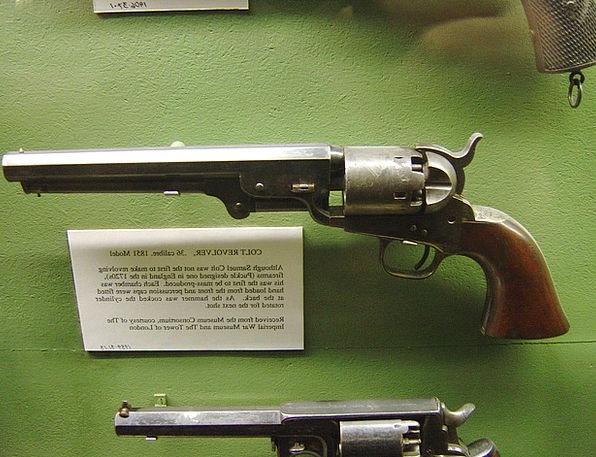 Revolver Horse Pistol Colt Gun Firearm Exhibition
