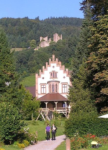 Castle Gaisbach Schauenburg Schlossgarten Oberkirc