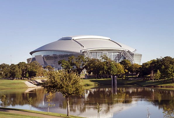 Stadium Arena Dallas American Football Texas Profe