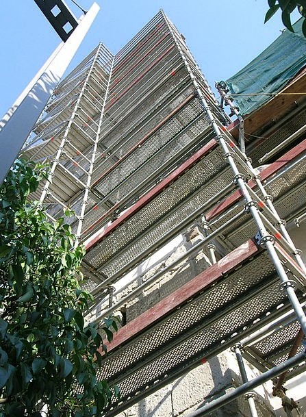 Scaffolding Support Buildings Structure Architectu