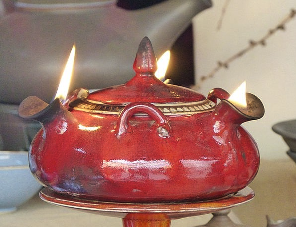Lamp Uplighter Flame Blaze Oil Lamp Fire Passion S