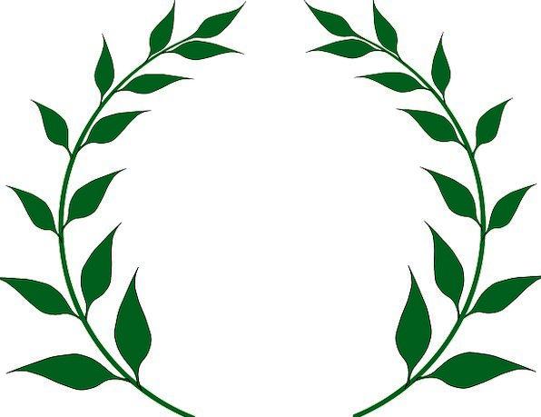 laurel wreath garland greek wreath leaves victory conquest