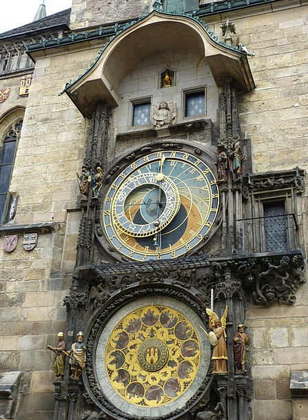 Town Hall Buildings Architecture Clock Timepiece P