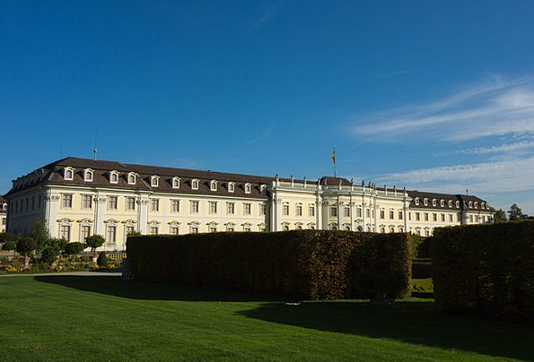 Ludwigsburg Germany Buildings Fortress Architectur