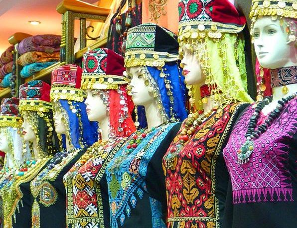 Amman Garment Clothing Jordan Orient Position Veil