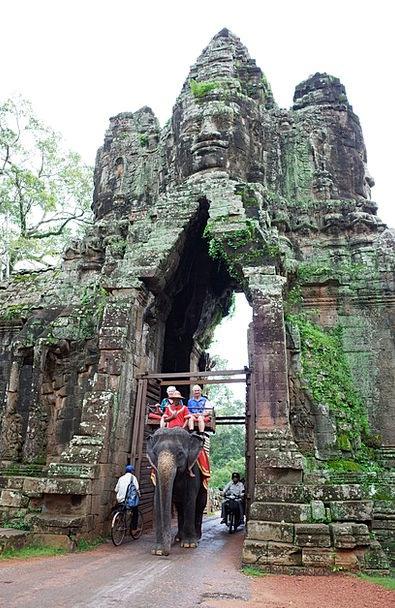 Cambodia Vacation Travel Angkor Thom Siem Reap Bay