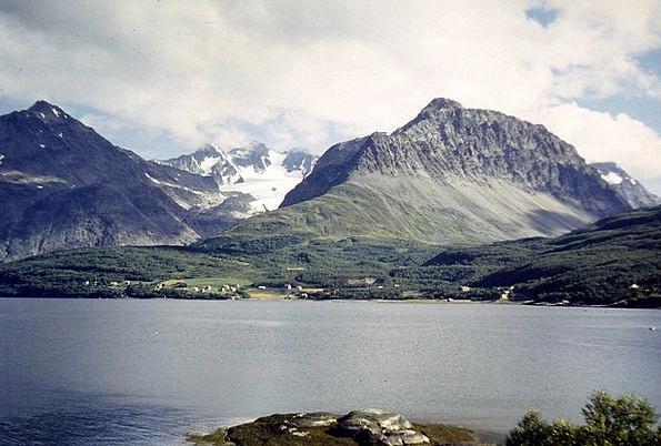 Fjord Inlet Mer De Glace Arctic Circle