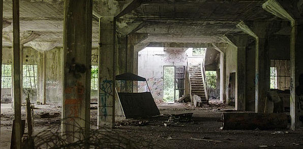 Ruin Devastation Buildings Permission Architecture