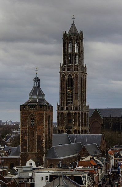 Utrecht Center Midpoint Dom Tower Tower Barbican C
