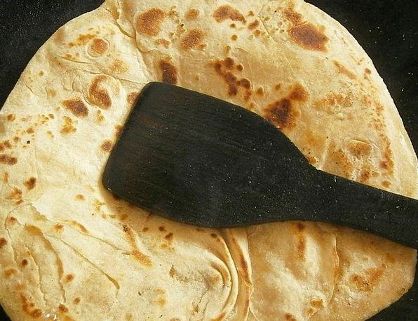 Chapati Drink Cash Food Indian Bread Vegetarian Pa