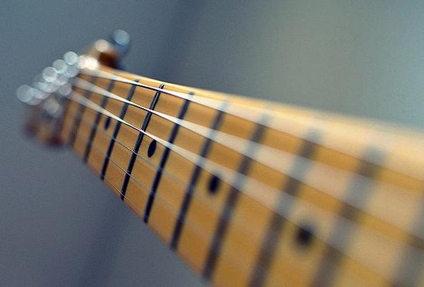 Guitar Cords Neck Neckline Strings Rock Fret Worry