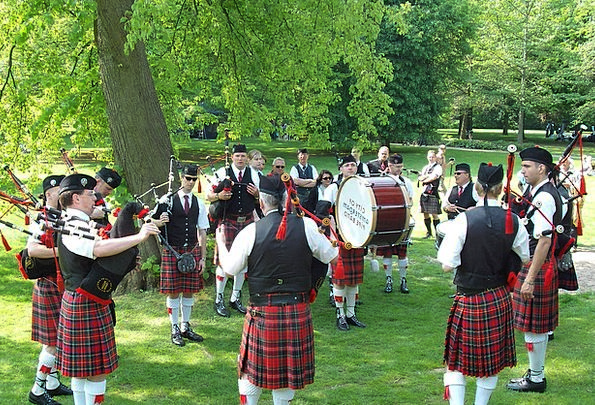Bagpipes Scottish Highlands And Islands Event Occa