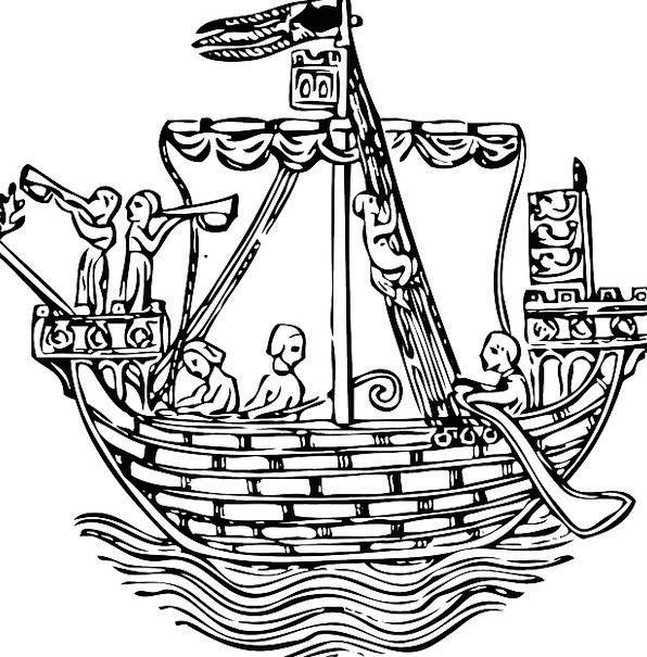 Pirate Buccaneer Vessel Sailing Marine Ship Water