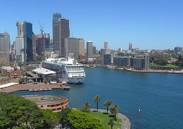 Sydney Buildings Architecture Skyline Horizon Aust