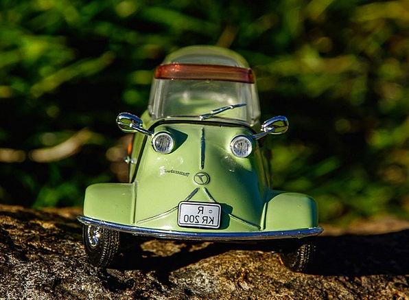 Messerschmitt Kr200 Traffic Transportation Oldtime