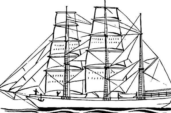 Sailing Marine Vacation Dinghy Travel Navy Fleet S