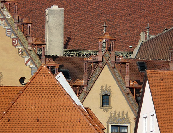 Gable Rooftops Homes Families Roofs Facades Fronta