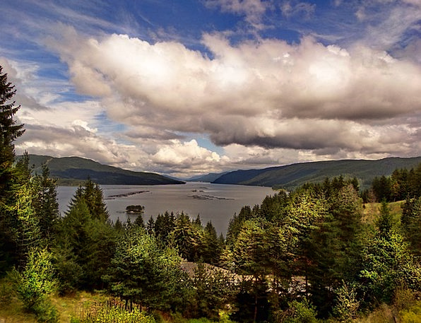 Lake Freshwater Landscapes Nature Dospat Bulgaria
