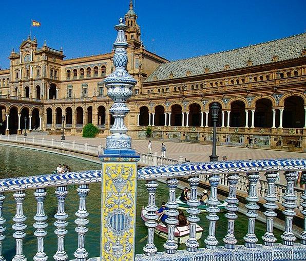 Seville Buildings Architecture Spain Andalusia Arc